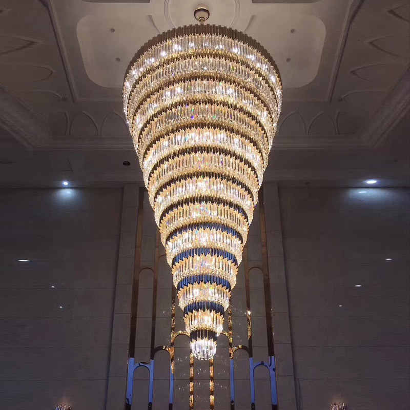 Large Modern Chandeliers